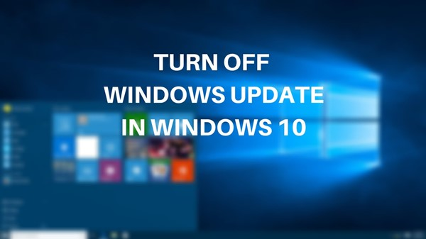 Methods to prevent Windows 10 devices from automatically installing updates