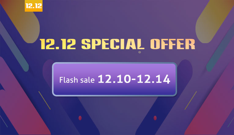 12.12 Flash Sale, up to 90% OFF.
