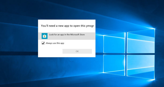Fix Windows Error: You'll need a new app to open this...
