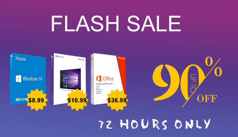 Flash Sale: 72 Hours Only!
