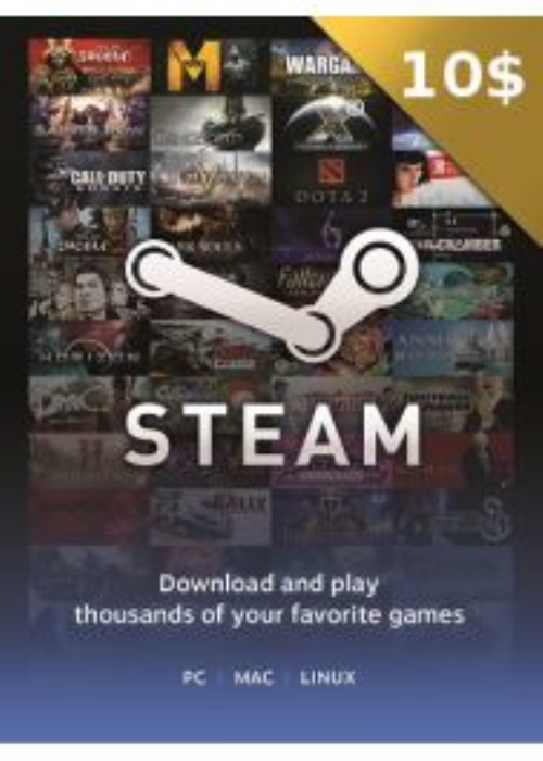 Steam Gift Card 10 USD CD Key