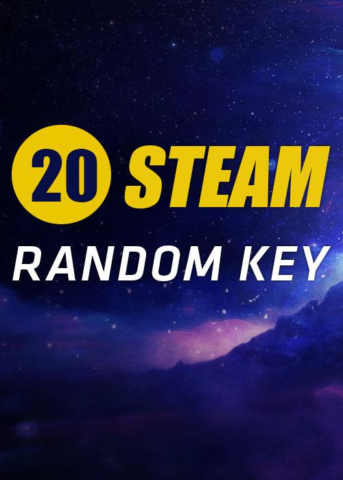20 Steam Random Keys Global
