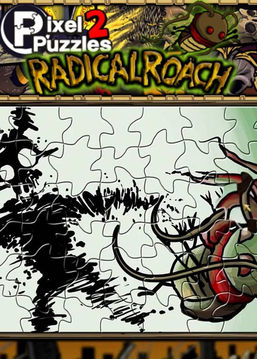 Official PIXEL PUZZLES 2 RADical ROACH Steam Key Global