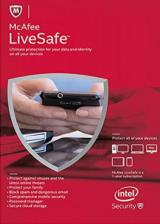 Official McAfee Livesafe Unlimited Devices 1 YEAR Global