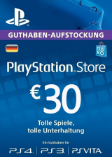 Official Play Station Network 30 EUR DE