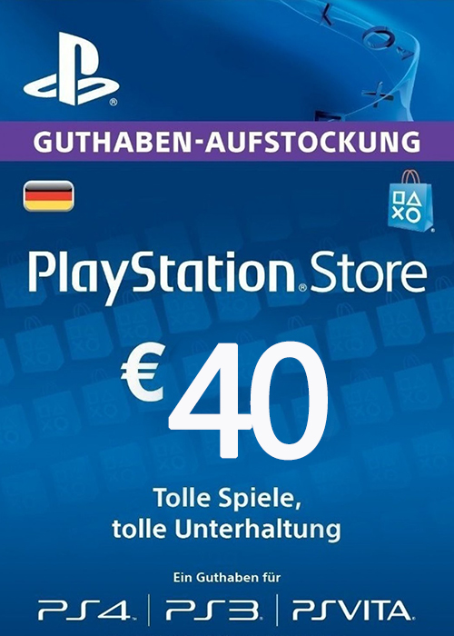 Play Station Network 40 EUR DE