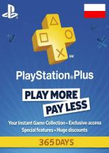 vipkeysale.com, Playstation Plus 365 Days Poland