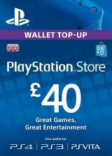 Official Play Station Network 40 GBP UK