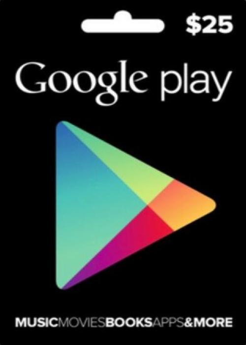 Google Play Gift 25 USD