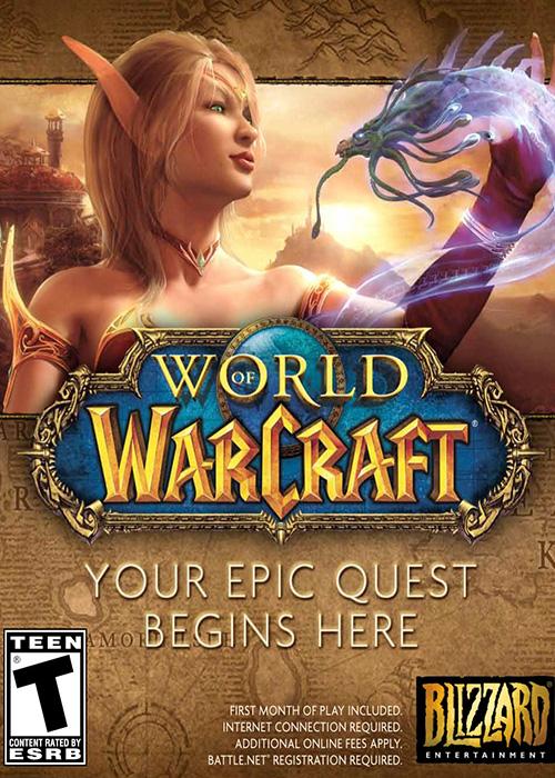 World of Warcraft Battle Chest + 30 Days CD Key US