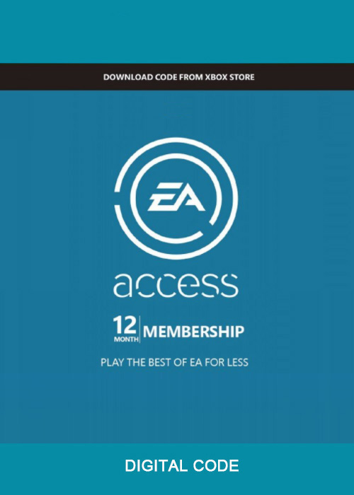 EA Access 12 Months Xbox One CD Key