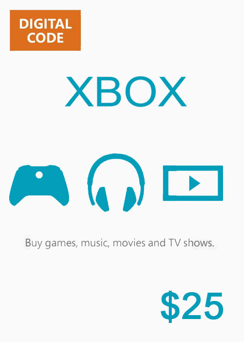 XBOX Live Gift Card 25 USD Key