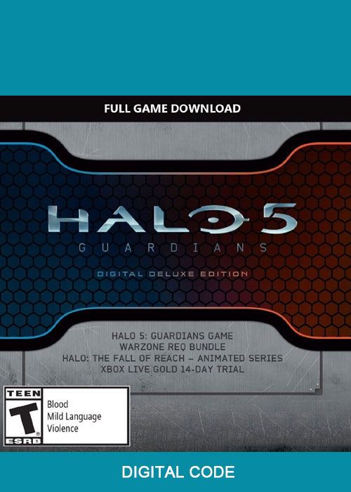 Halo 5: The Guardians Digital Deluxe Xbox One Digital Code