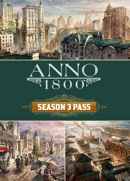 ANNO 1800 Season 3 Pass Uplay CD Key EU
