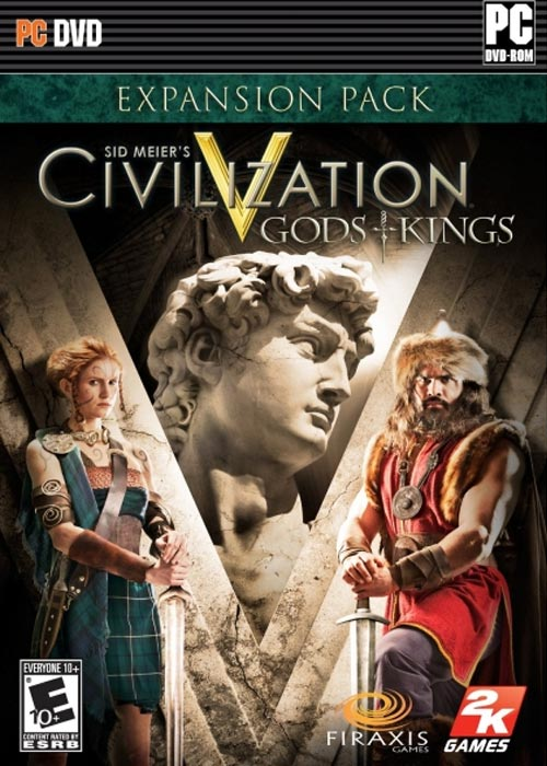 Official  Civilization V Gods and Kings DLC Steam CD Key