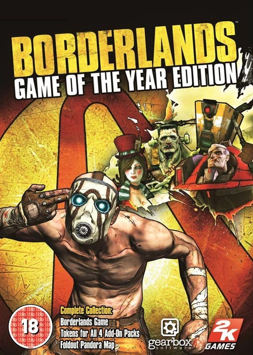 Borderlands Game of The Year  Steam CD Key