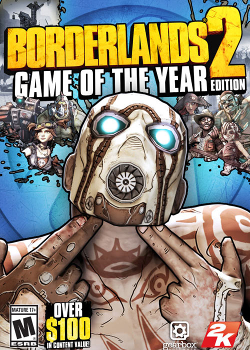 Borderlands 2 Game Of The Year Edition Steam CD Key