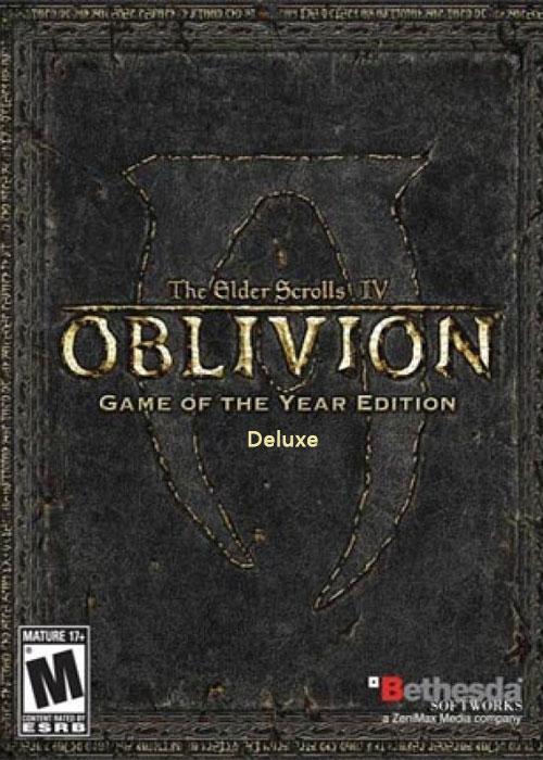 The Elder Scrolls IV Oblivion GOTY Edition Deluxe Steam CD Key