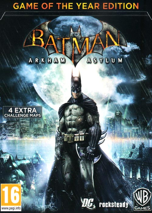 Batman Arkham Asylum GOTY Steam CD Key
