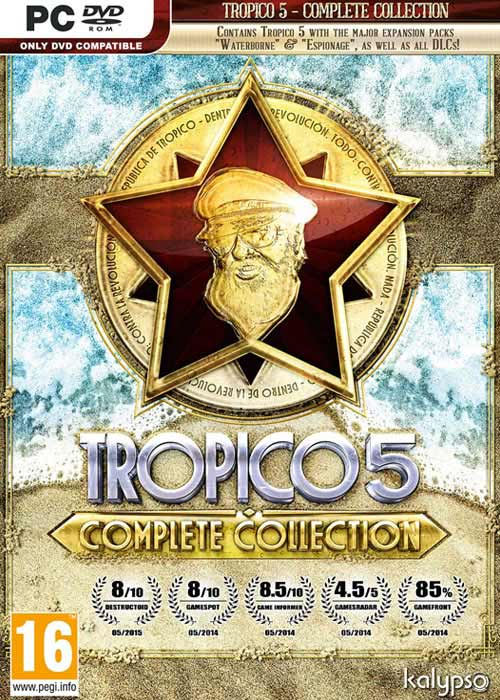 Tropico 5 Complete Collection Steam CD Key