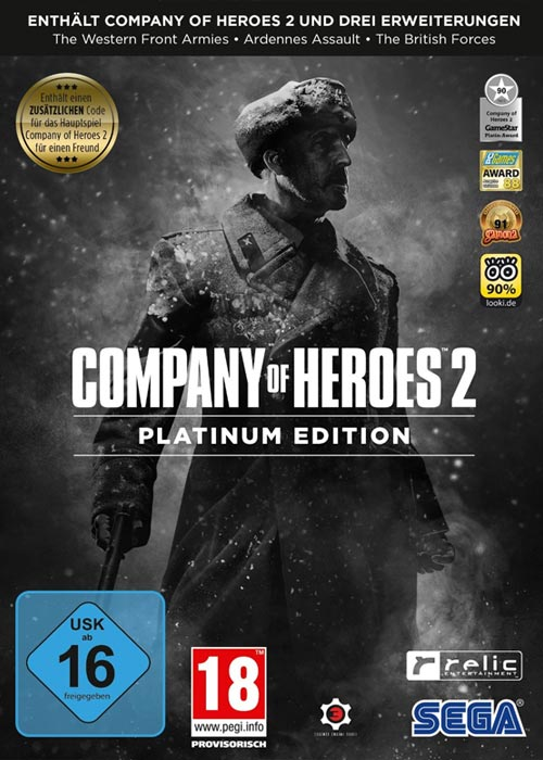 Company Of Heroes 2 Platinum Edition Steam CD Key
