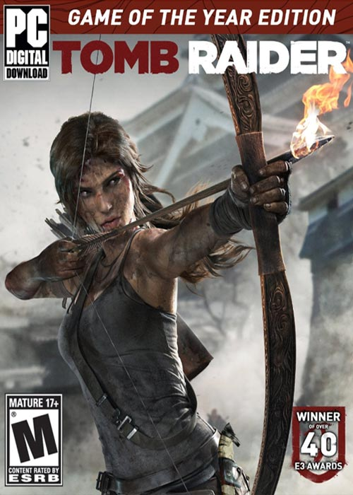 Tomb Raider GOTY Edition Steam CD Key