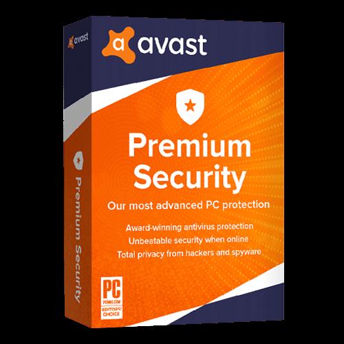 Avast Premium Security 1 PC 1 Year Key Global